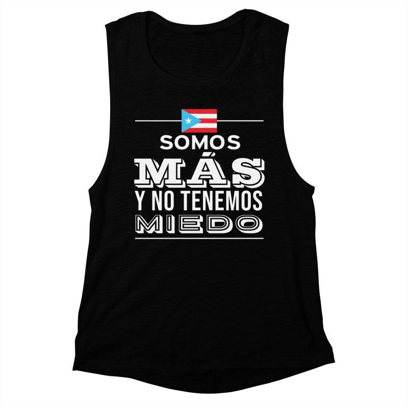 SOMOS MÁS Women's Muscle Tank by La Tiendita Pepito