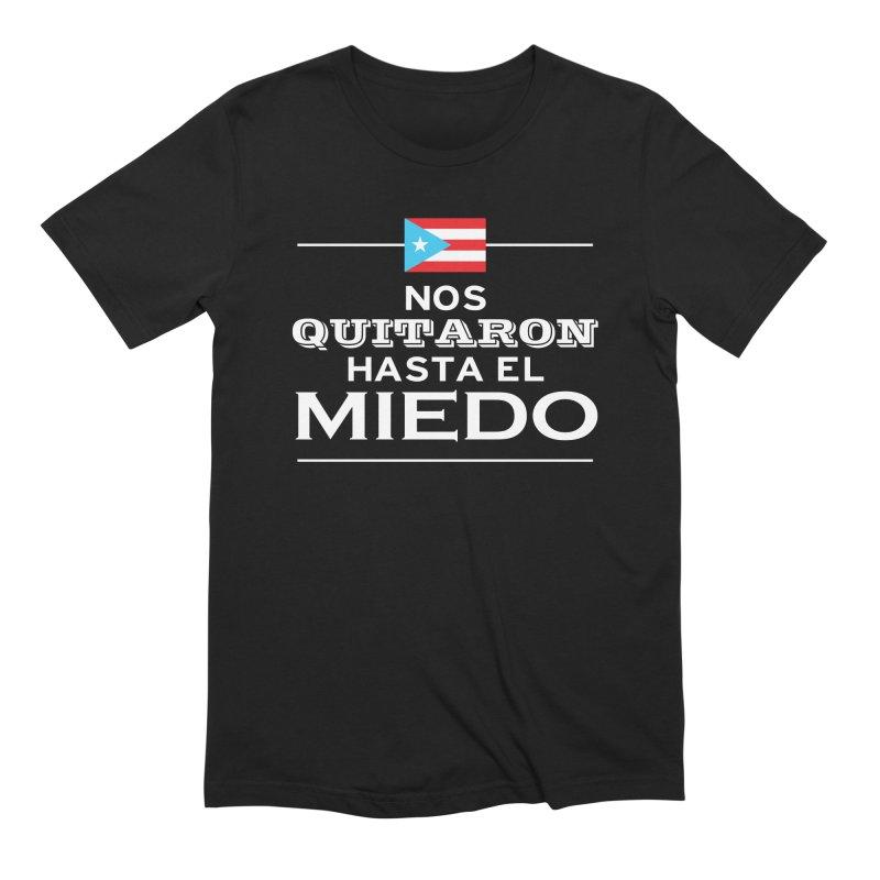 SIN MIEDO Men's Extra Soft T-Shirt by La Tiendita Pepito