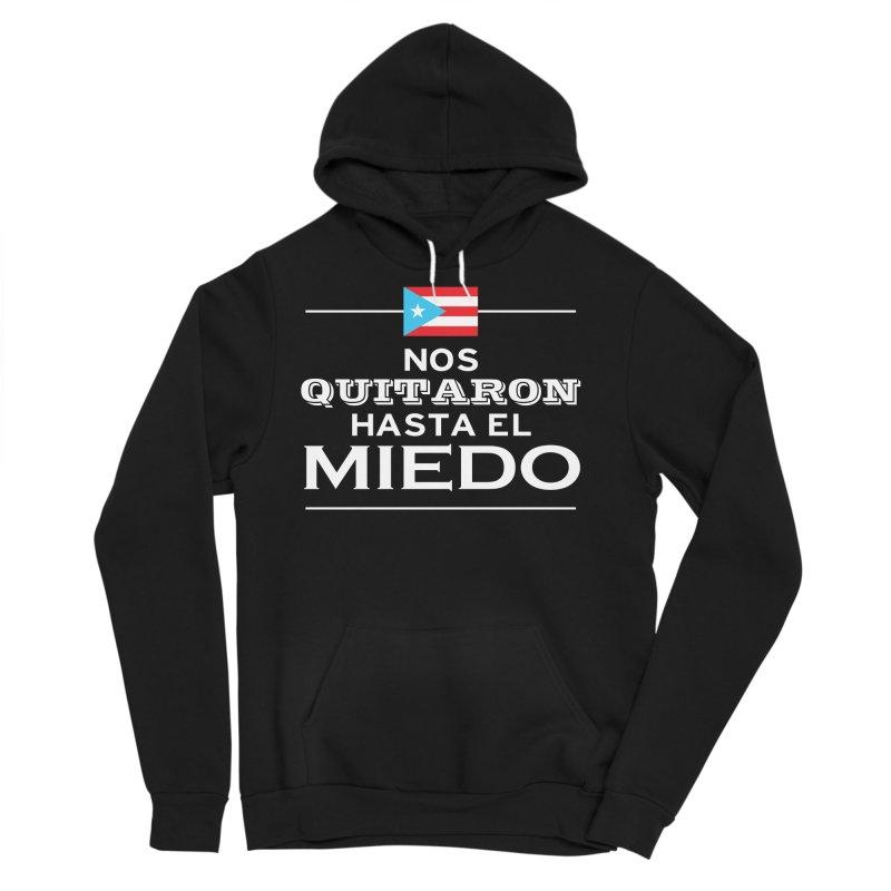 SIN MIEDO Men's Sponge Fleece Pullover Hoody by La Tiendita Pepito