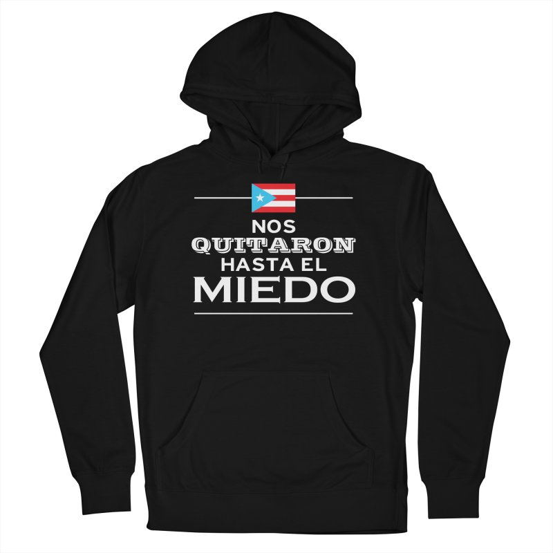 SIN MIEDO Men's French Terry Pullover Hoody by La Tiendita Pepito