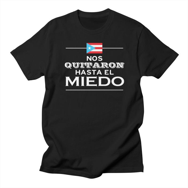 SIN MIEDO Men's Regular T-Shirt by La Tiendita Pepito