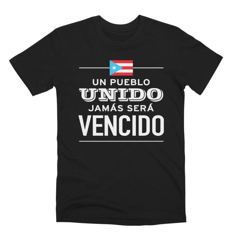 UNIDOS Men's Premium T-Shirt by La Tiendita Pepito