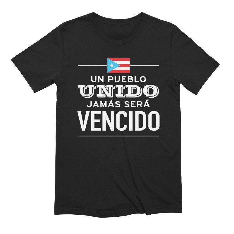 UNIDOS Men's Extra Soft T-Shirt by La Tiendita Pepito