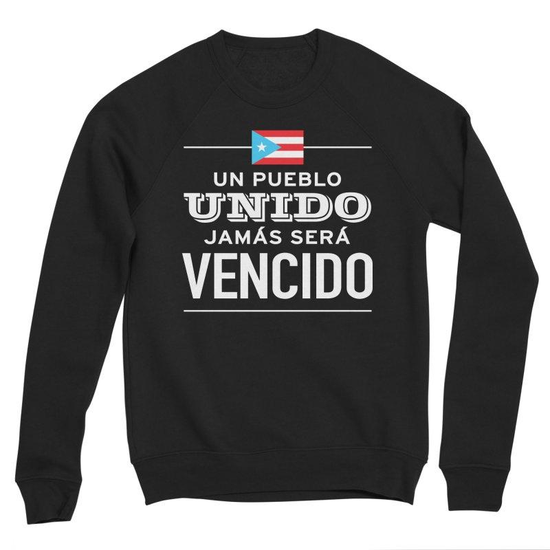 UNIDOS Men's Sponge Fleece Sweatshirt by La Tiendita Pepito