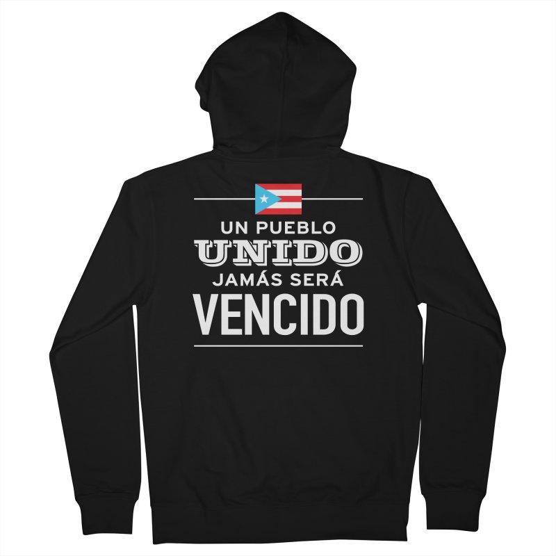 UNIDOS Men's French Terry Zip-Up Hoody by La Tiendita Pepito