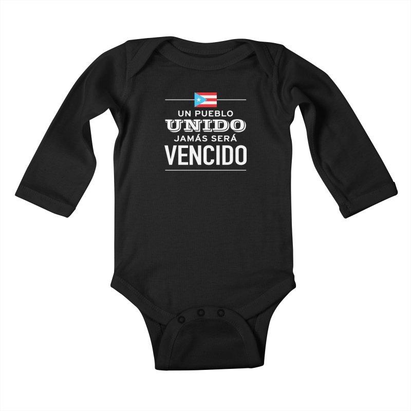 UNIDOS Kids Baby Longsleeve Bodysuit by La Tiendita Pepito