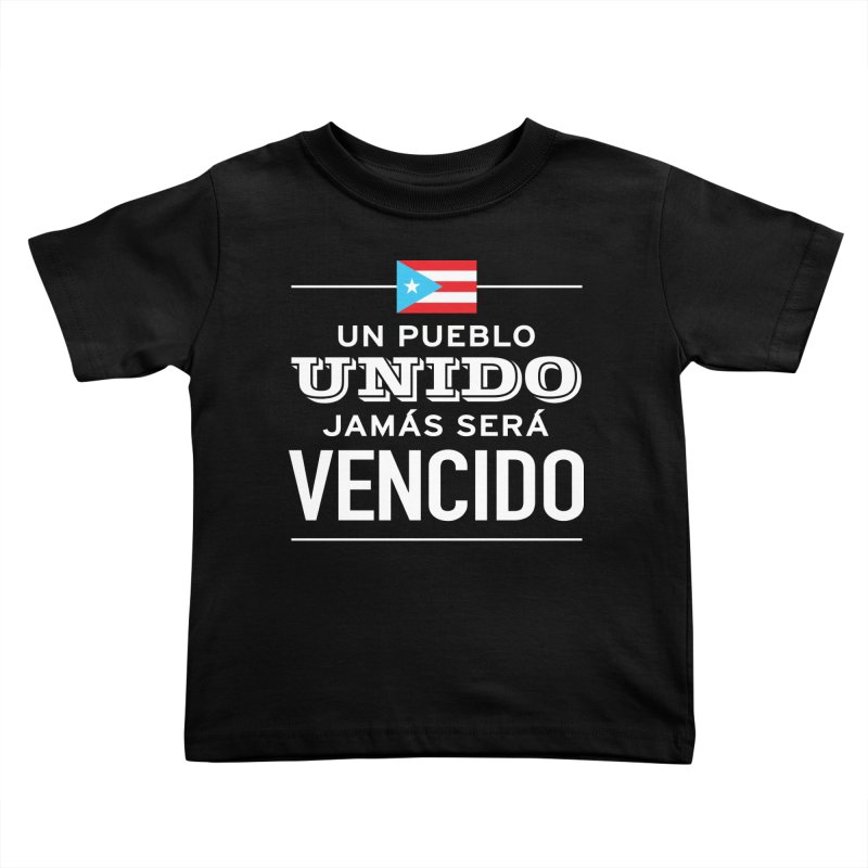 UNIDOS Kids Toddler T-Shirt by La Tiendita Pepito