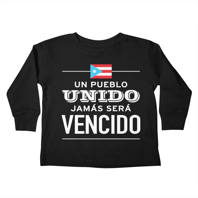 UNIDOS Kids Toddler Longsleeve T-Shirt by La Tiendita Pepito