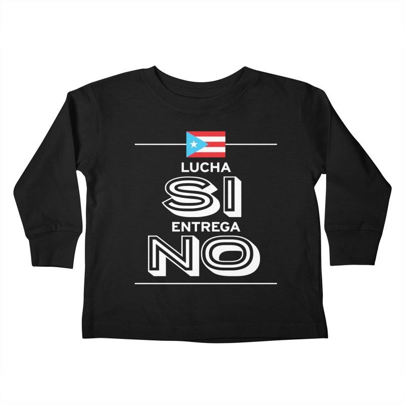 LUCHA SI Kids Toddler Longsleeve T-Shirt by La Tiendita Pepito