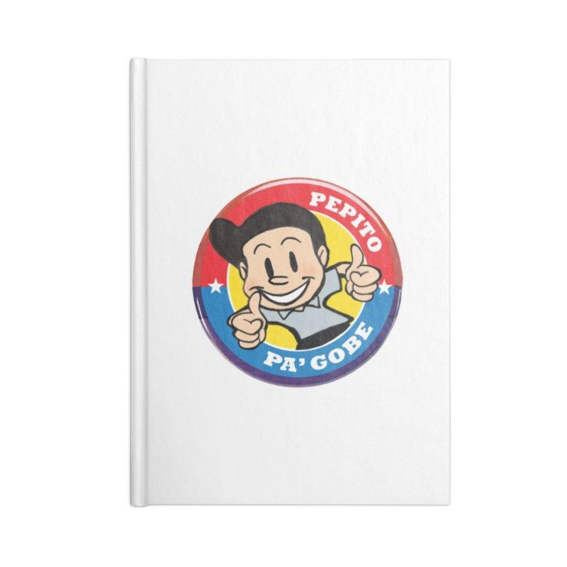 Pepito pa' Gobe Accessories Lined Journal Notebook by La Tiendita Pepito