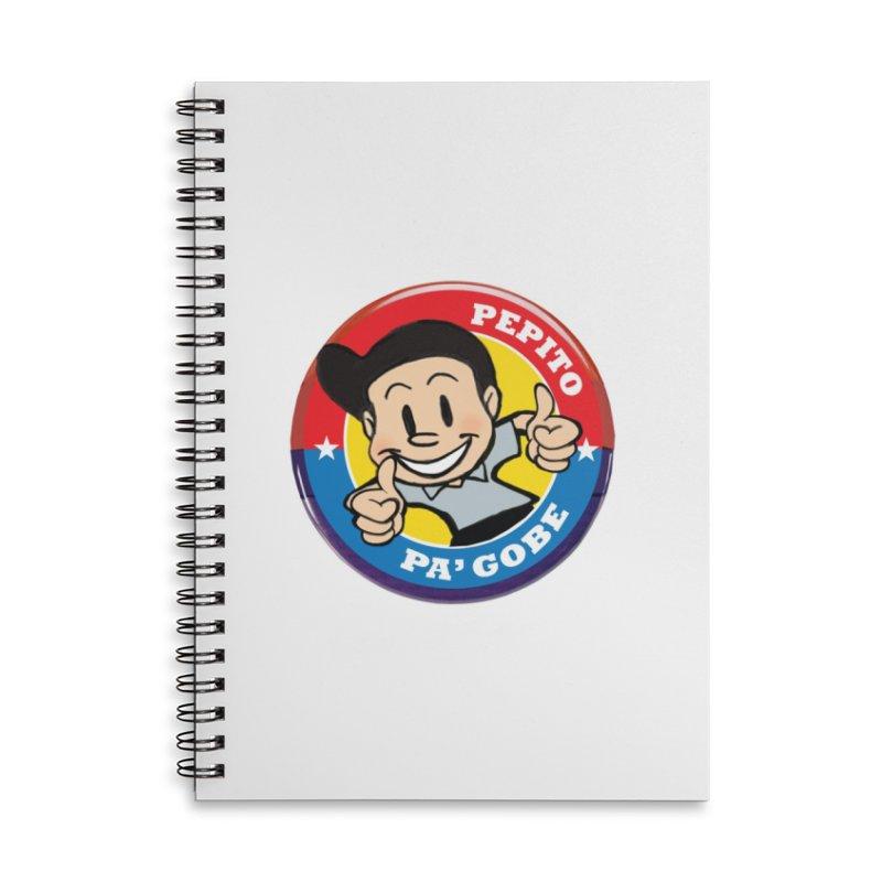 Pepito pa' Gobe Accessories Lined Spiral Notebook by La Tiendita Pepito