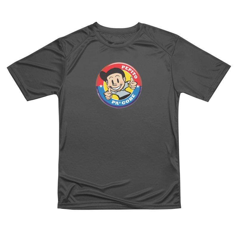 Pepito pa' Gobe Men's Performance T-Shirt by La Tiendita Pepito