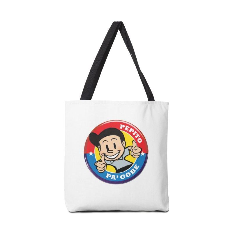 Pepito pa' Gobe in Tote Bag by La Tiendita Pepito