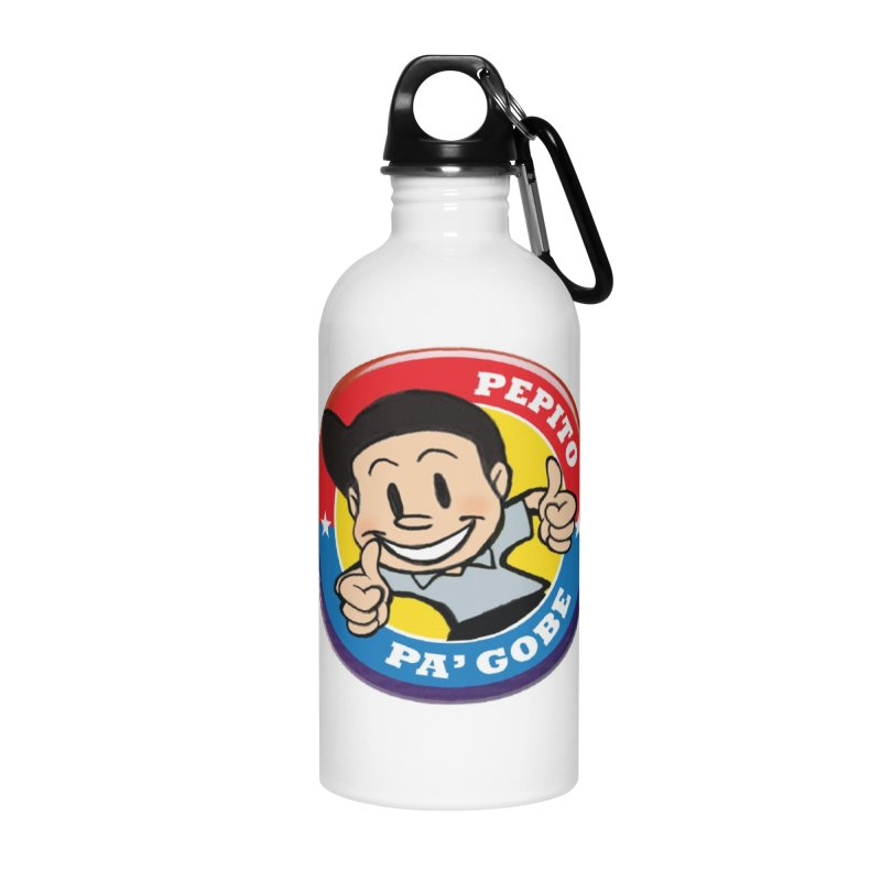 Pepito pa' Gobe Accessories Water Bottle by La Tiendita Pepito
