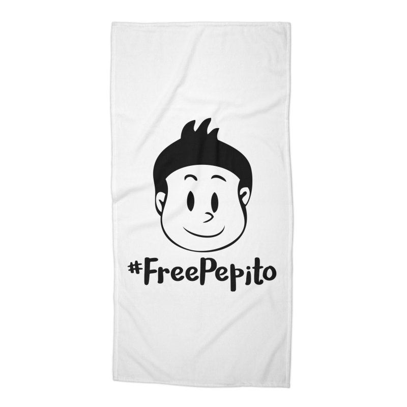 #FreePepito Accessories Beach Towel by La Tiendita Pepito