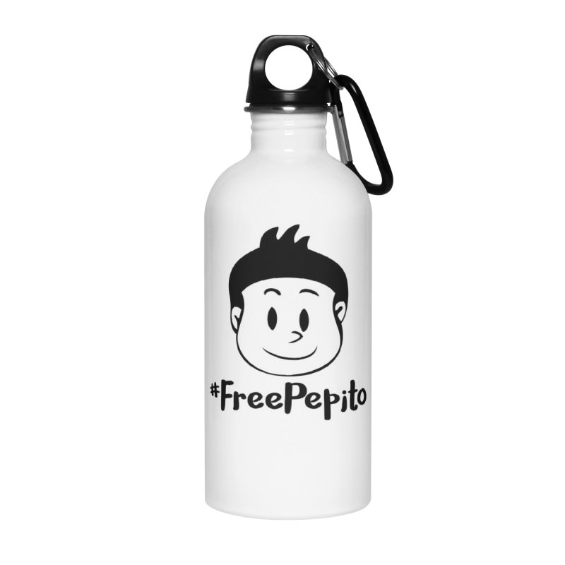 #FreePepito Accessories Water Bottle by La Tiendita Pepito