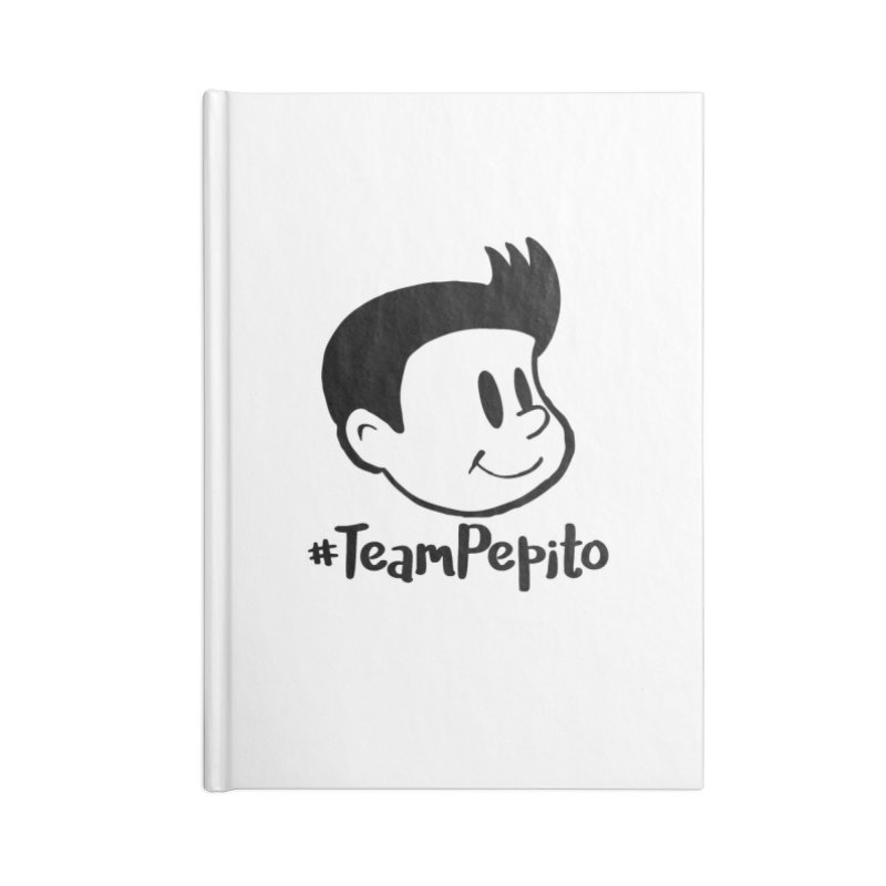 #TeamPepito Accessories Blank Journal Notebook by La Tiendita Pepito