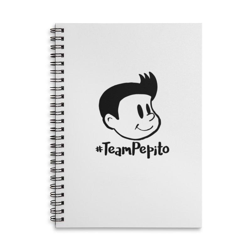 #TeamPepito in Lined Spiral Notebook by La Tiendita Pepito