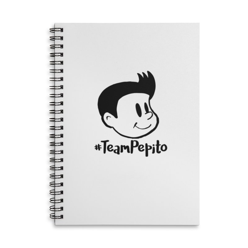 #TeamPepito in Lined Spiral Notebook by La Tiendita Pepito