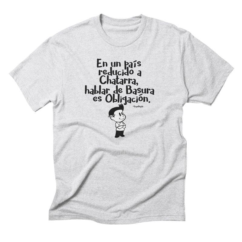 #Chatarra Men's Triblend T-Shirt by La Tiendita Pepito