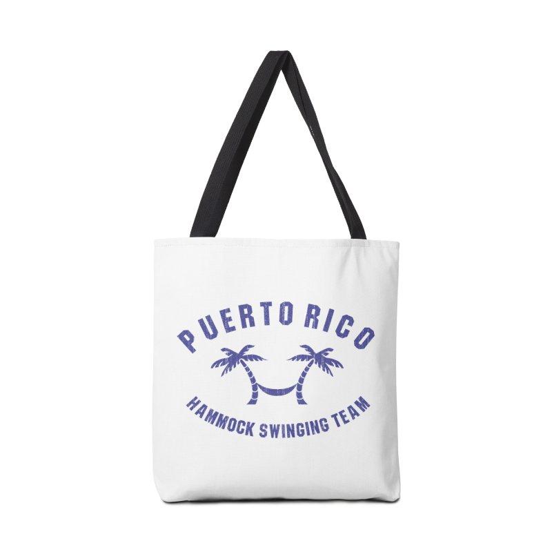 Puerto Rico Hammock Swinging Team Accessories Tote Bag Bag by La Tiendita Pepito