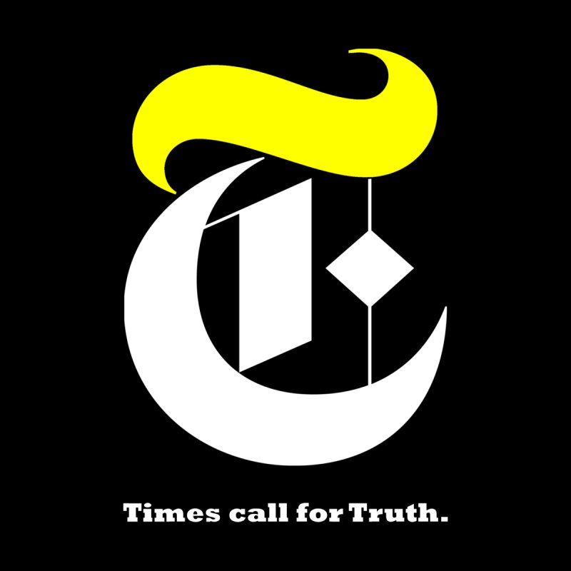 Times call for Truth ( with slogan ) Men's T-Shirt by La Tiendita Pepito