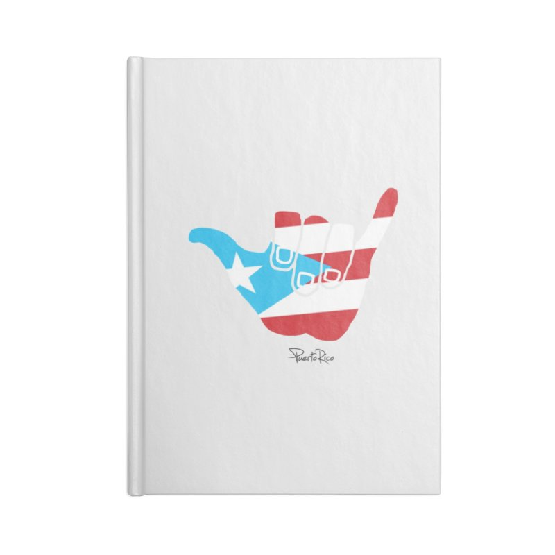 Surfin' Puerto Rico Accessories Lined Journal Notebook by La Tiendita Pepito
