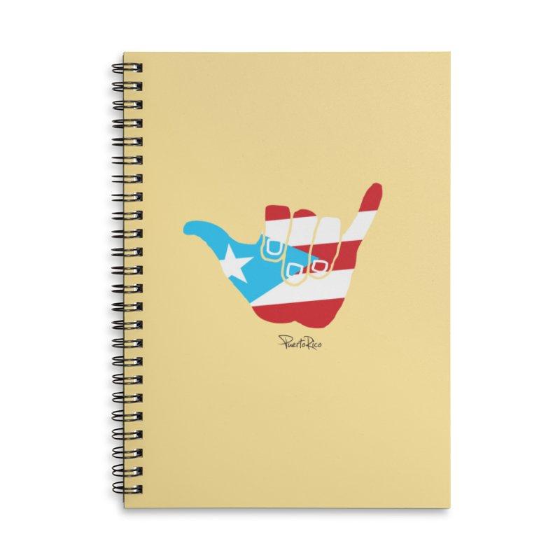 Surfin' Puerto Rico Accessories Lined Spiral Notebook by La Tiendita Pepito