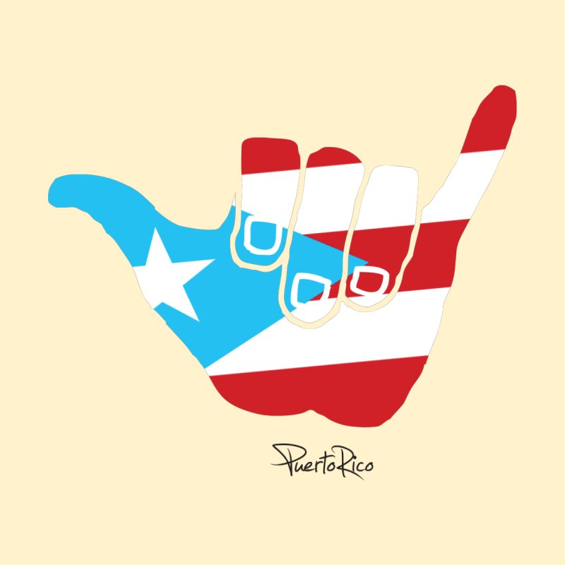 Surfin' Puerto Rico Accessories Beach Towel by La Tiendita Pepito