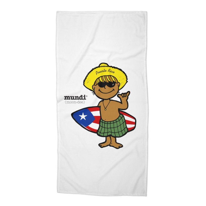 Mundi Accessories Beach Towel by La Tiendita Pepito