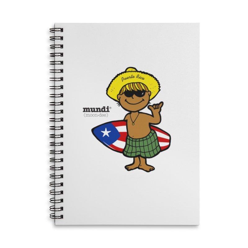 Mundi Accessories Lined Spiral Notebook by La Tiendita Pepito