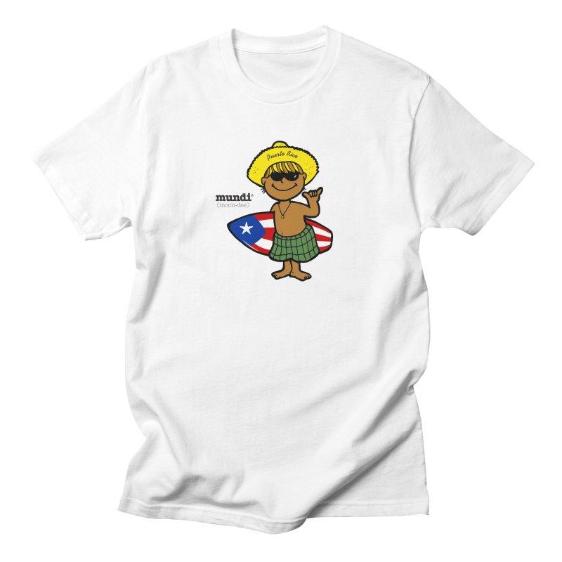 Mundi in Men's Regular T-Shirt White by La Tiendita Pepito
