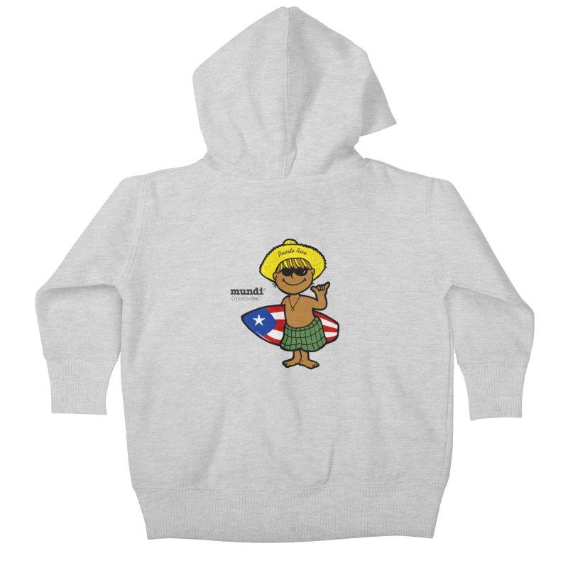 Mundi Kids Baby Zip-Up Hoody by La Tiendita Pepito