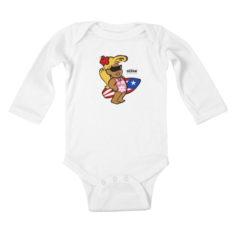 Olita Kids Baby Longsleeve Bodysuit by La Tiendita Pepito