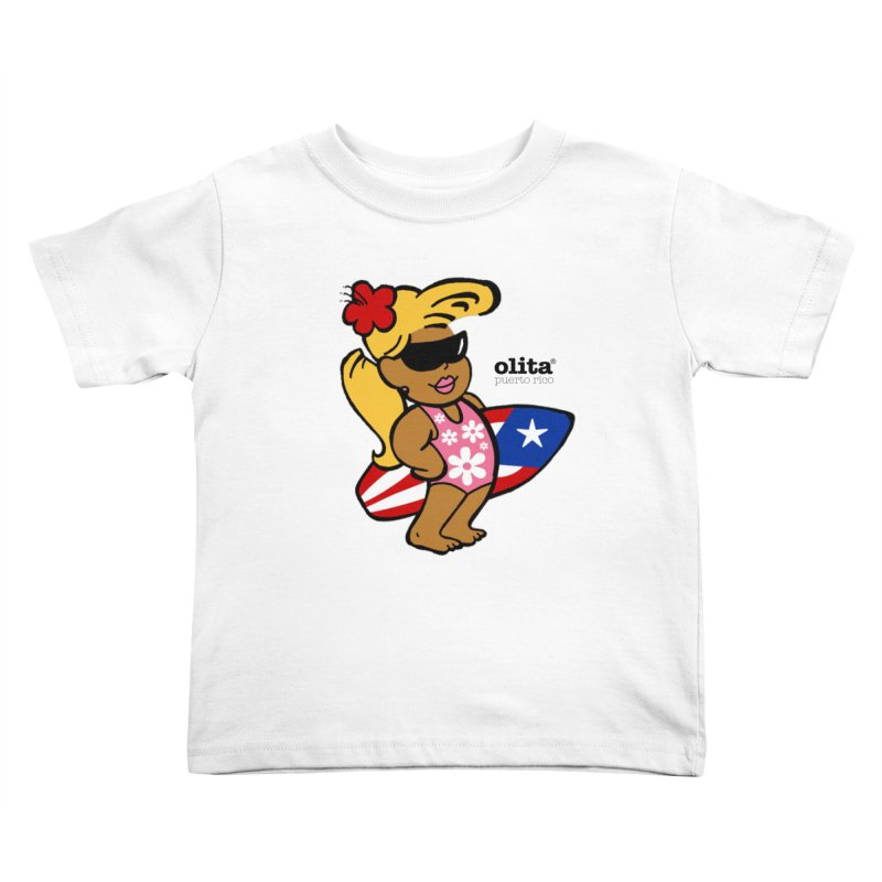 Olita Kids Toddler T-Shirt by La Tiendita Pepito