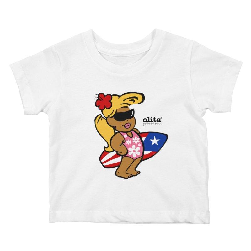 Olita Kids Baby T-Shirt by La Tiendita Pepito