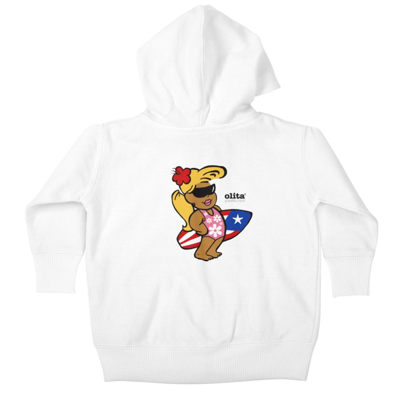 Olita Kids Baby Zip-Up Hoody by La Tiendita Pepito