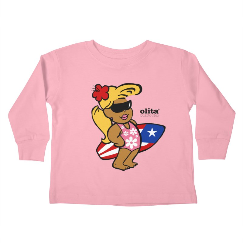 Olita Kids Toddler Longsleeve T-Shirt by La Tiendita Pepito
