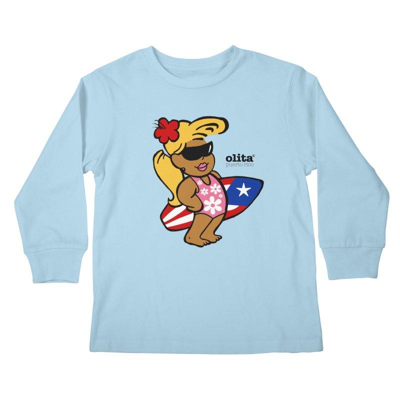 Olita Kids Longsleeve T-Shirt by La Tiendita Pepito