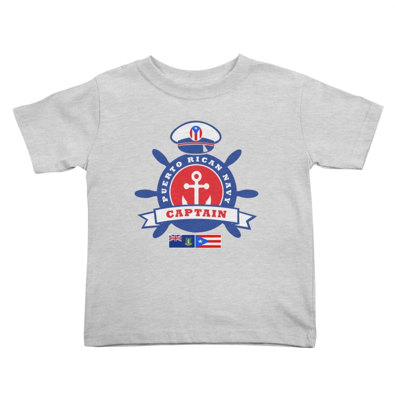 Puerto Rican Navy Kids Toddler T-Shirt by La Tiendita Pepito