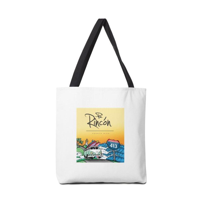 Pa' Rincón ( color ) Accessories Tote Bag Bag by La Tiendita Pepito