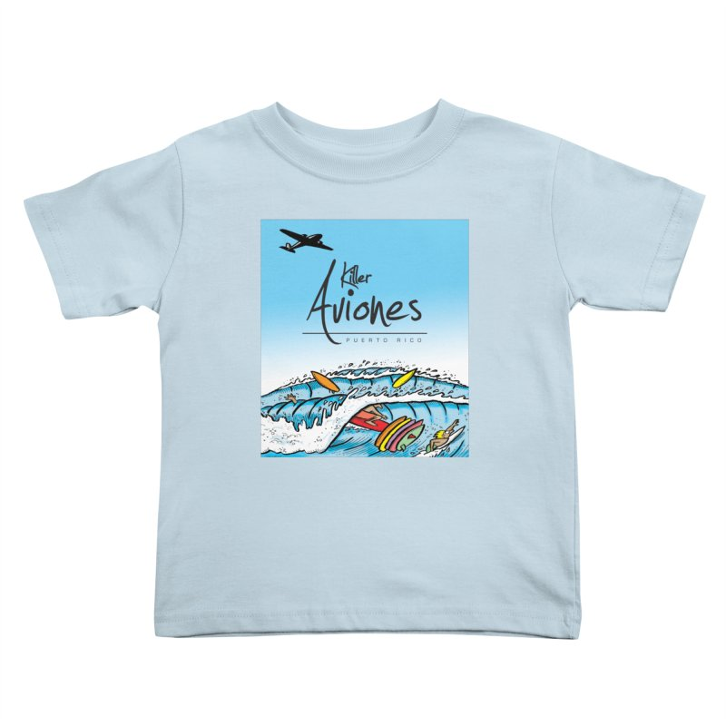 Killer Aviones Kids Toddler T-Shirt by La Tiendita Pepito