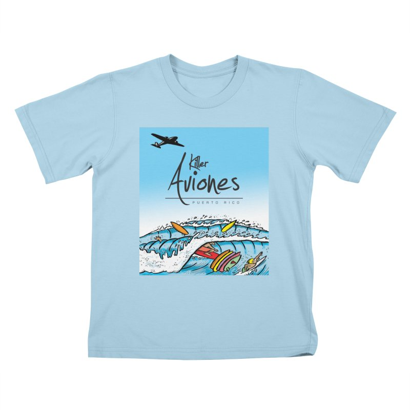 Killer Aviones Kids T-Shirt by La Tiendita Pepito