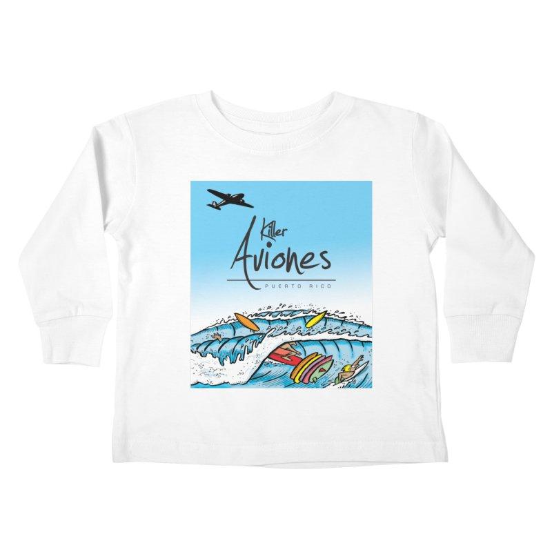 Killer Aviones Kids Toddler Longsleeve T-Shirt by La Tiendita Pepito