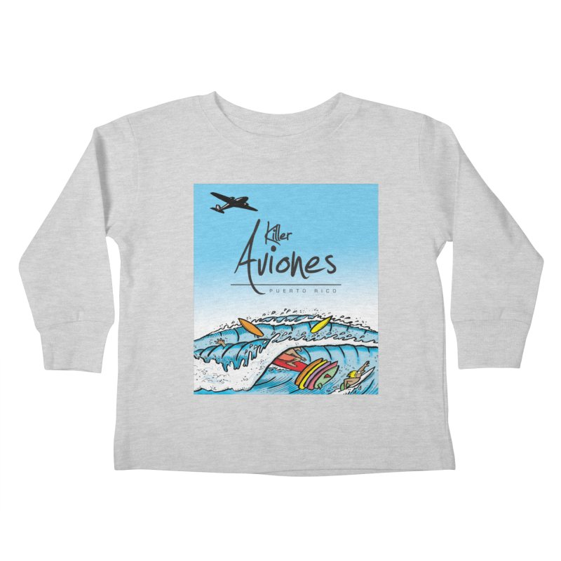 Killer Aviones Kids Toddler Longsleeve T-Shirt by La Tiendita Pepito