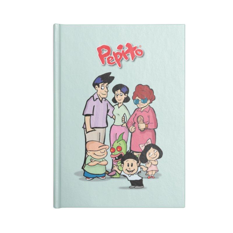 La Familia Pepito Accessories Lined Journal Notebook by La Tiendita Pepito