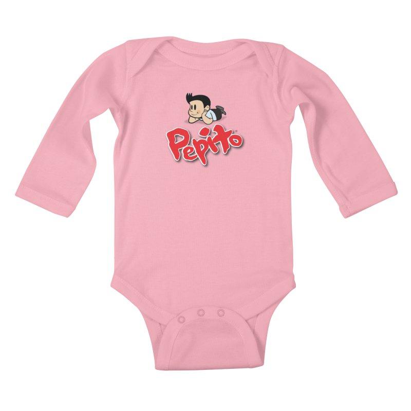 Pepito Kids Baby Longsleeve Bodysuit by La Tiendita Pepito