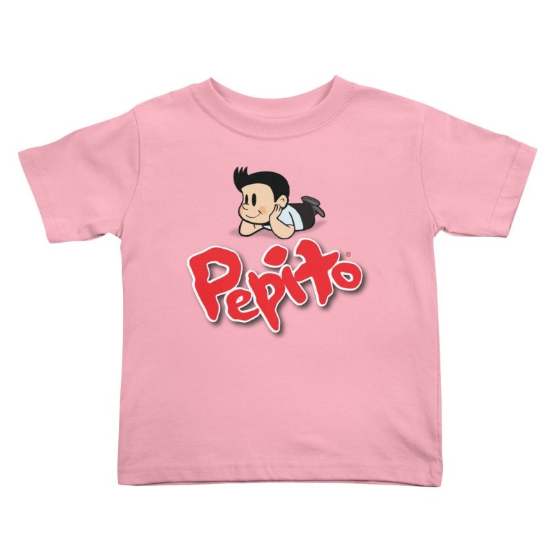 Pepito Kids Toddler T-Shirt by La Tiendita Pepito