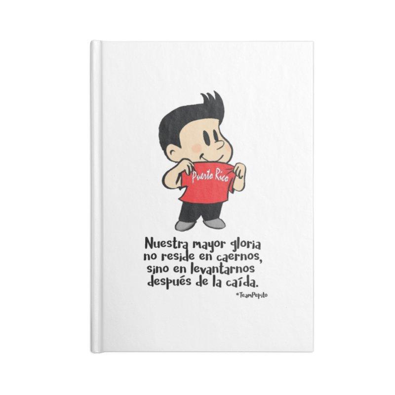 Orgullo Pepito Accessories Lined Journal Notebook by La Tiendita Pepito
