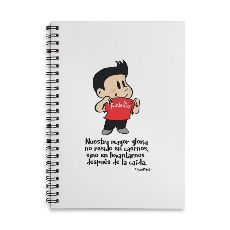 Orgullo Pepito Accessories Lined Spiral Notebook by La Tiendita Pepito